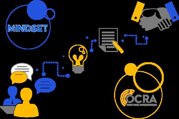 collaborazione tra Ocra e Mindset